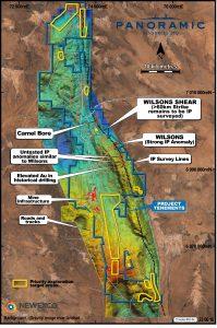Gravity image over Landsat showing Wilson Shear